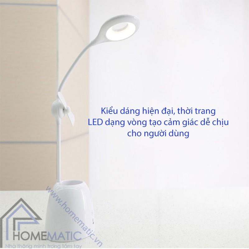 Đèn LED - quạt - hộp bút - chống cận
