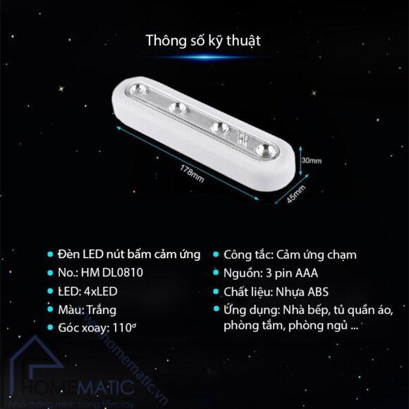 den HM-TDL01 chi tiet san pham