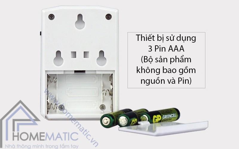 MSPIR01 su dung 3 pin