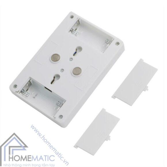 LED cong tac gat nap pin