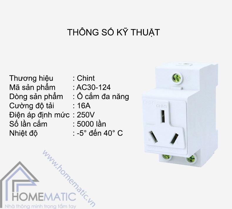 CHINT AC30SN3 thongso