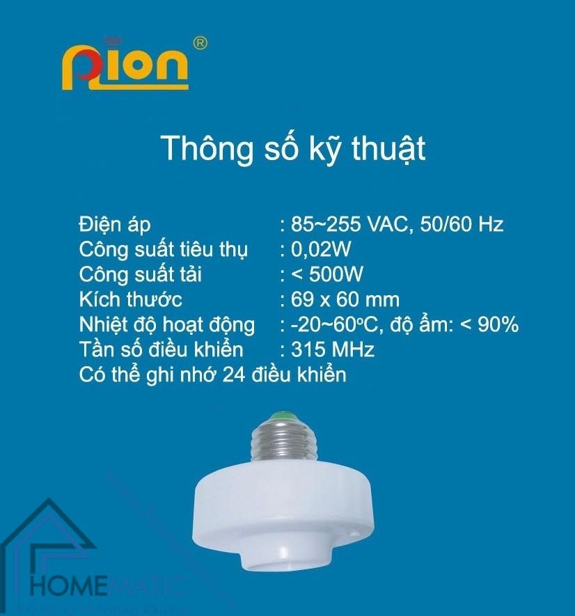 PION LHR315 thong so