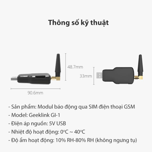 module sim geeklink thong so ky thuat