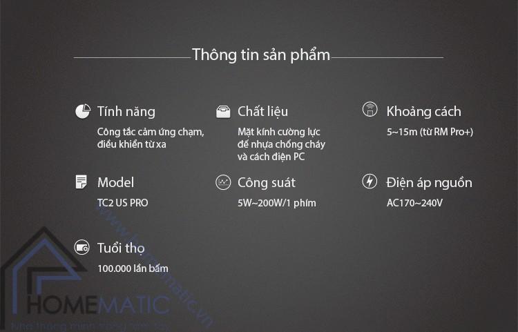 TC2PRO thong tin san pham
