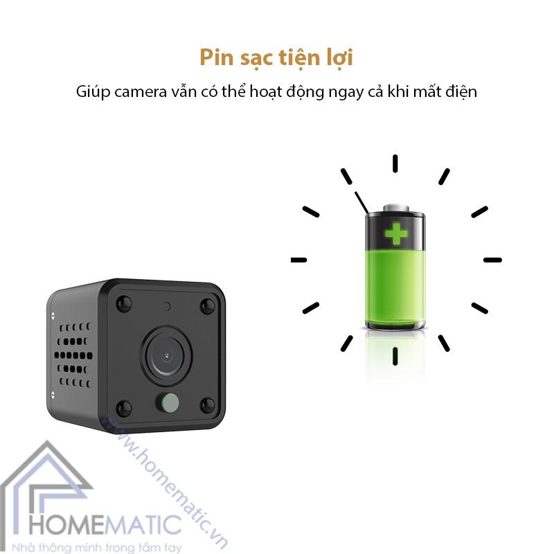 Camera wifi tuya mini HM-WJ01 pin sac