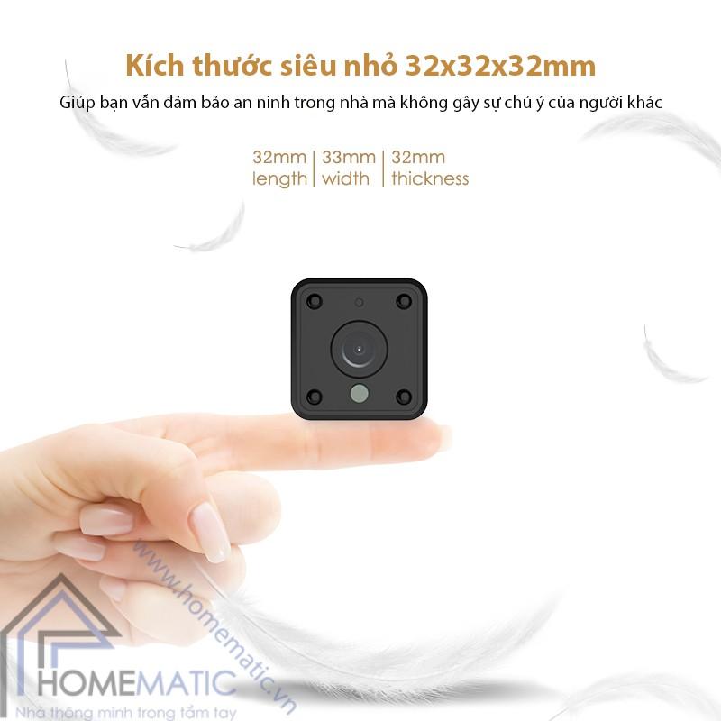 Camera wifi tuya mini HM-WJ01 kich thuoc nho