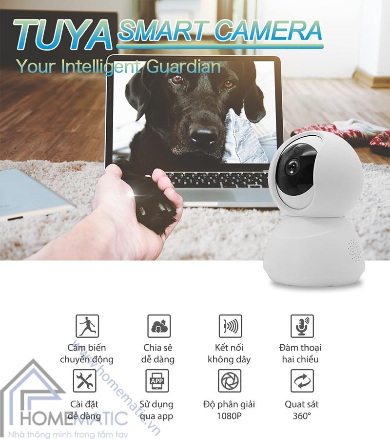 Camera Wifi Tuya HM-CK-88 dac diem