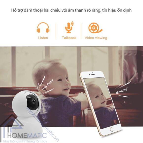 Camera Wifi Tuya HM-CK-88 dam thoai 2 chieu