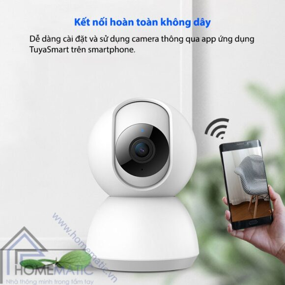 Camera Wifi Tuya HM-CK-88 ket noi khong day