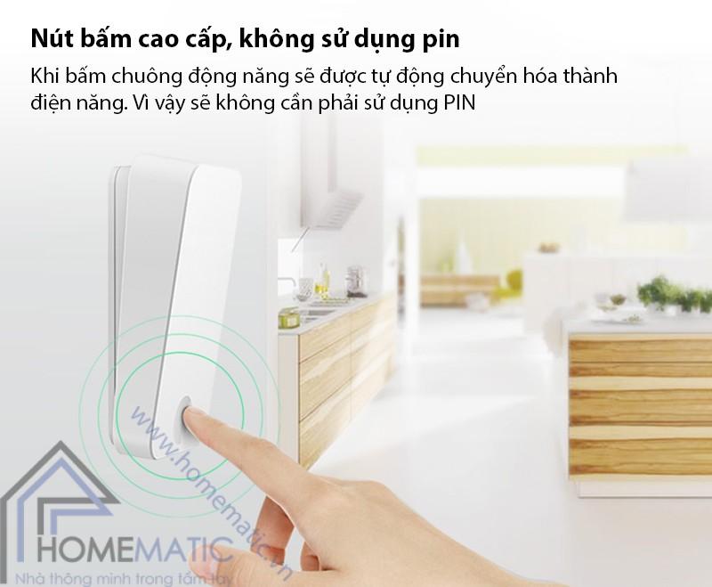 chuong HBM007 nut bam khong dung pin