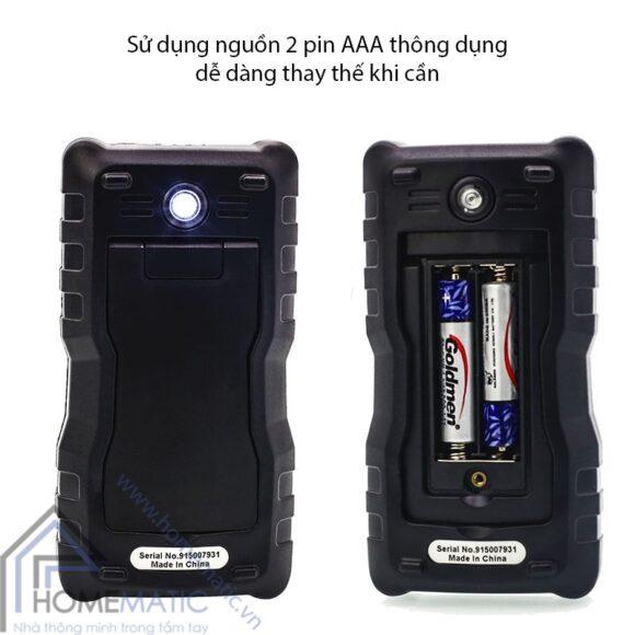 Zoyi ZT-S4 su dung pin AAA