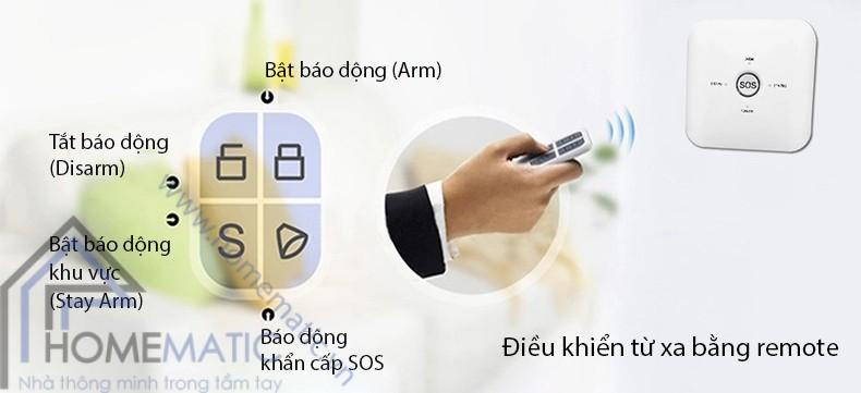 bo chong trom hm-ck3 dktx bang remote