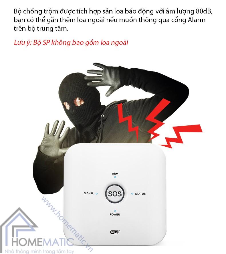 bo chong trom hm-ck3 loa bao dong