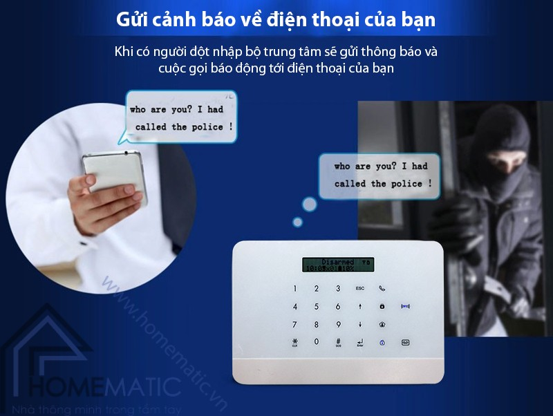 hm-ck5 bao dong qua dien thoai