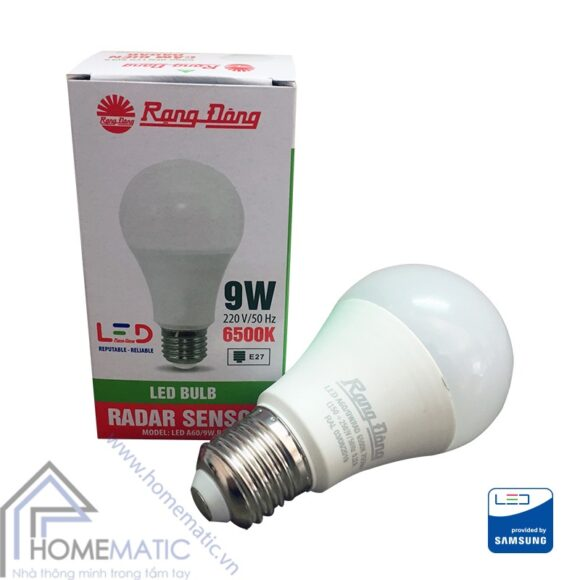 led bulb rang dong radar - 9W hop sp