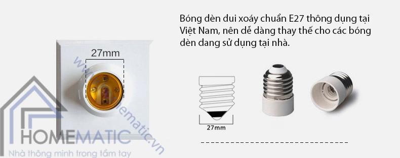 led bulb rang dong radar - bong den E27