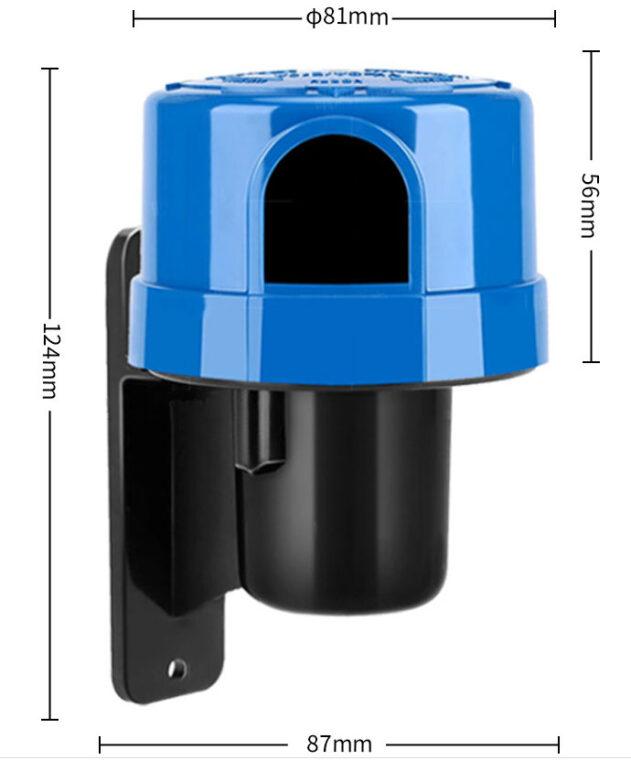 Công tắc cảm biến ánh sáng zodion SS4H kích cỡ