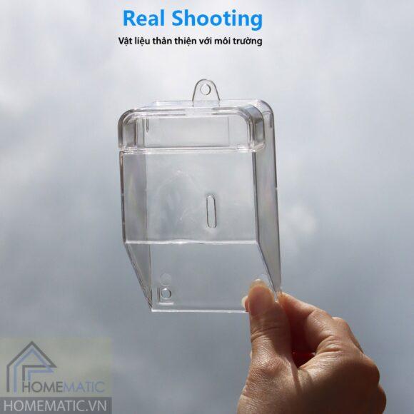 Hộp bảo vệ chống nước, chống va đập cho nút bấm chuông cửa