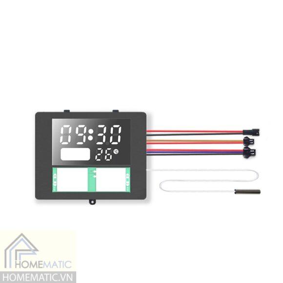 Công tắc gương cảm ứng + đồng hồ HMCY-D12TOK5P03