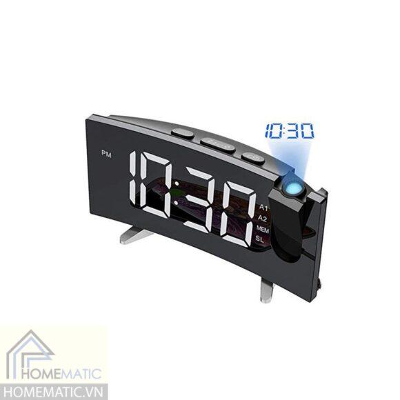 Đồng hồ máy chiếu cao cấp để bàn kiêm đài FM EN8831