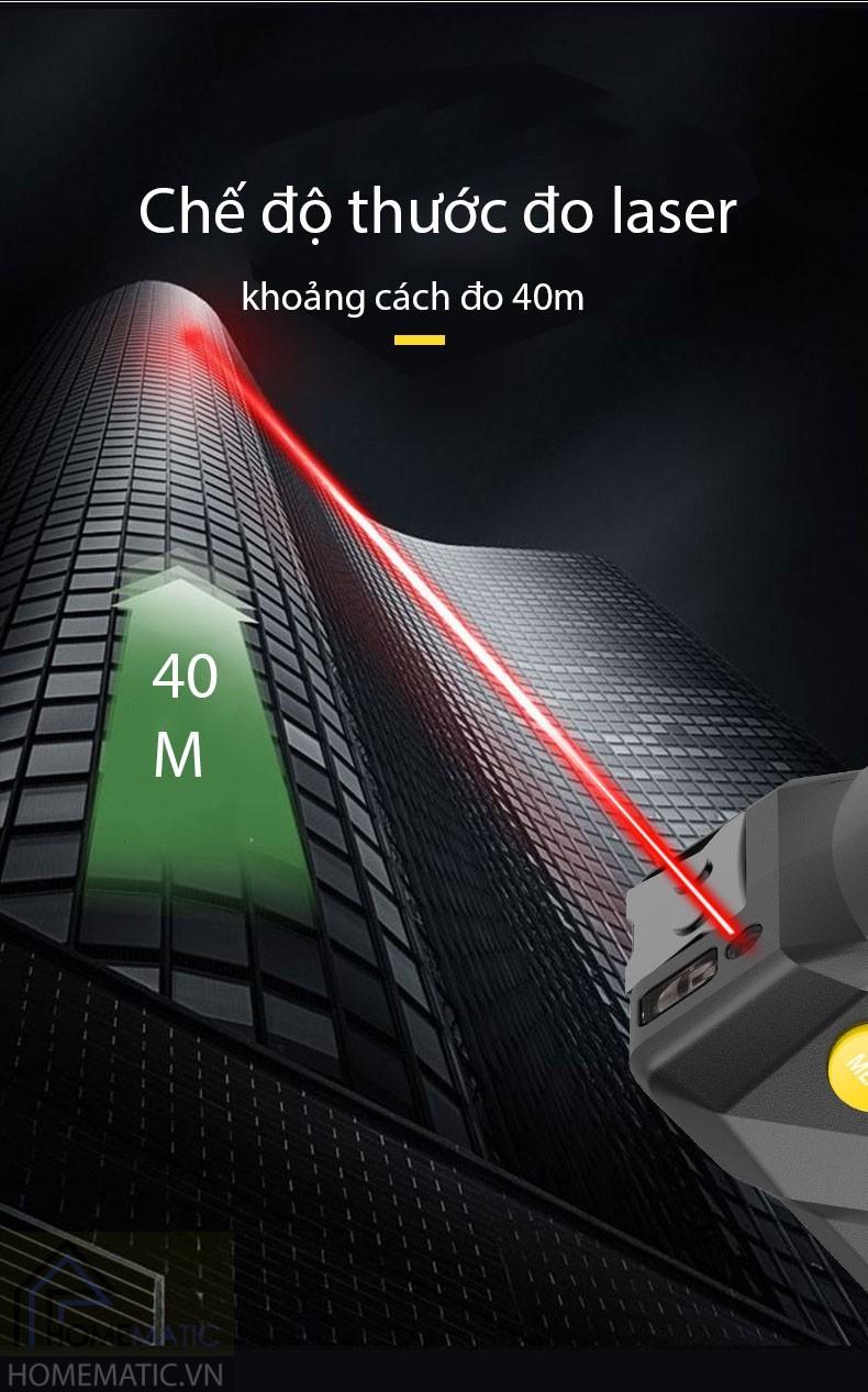 Thước đo đa năng điện tử cao cấp pin sạc USB 3 trong 1 LDT0540