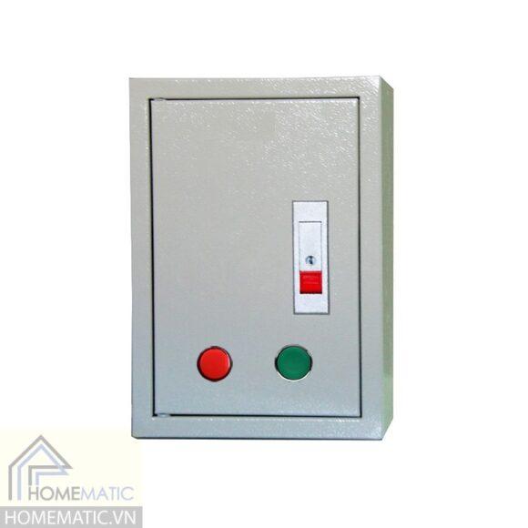 Tủ điện sơn tĩnh điện kèm đèn + nút bấm TH302015
