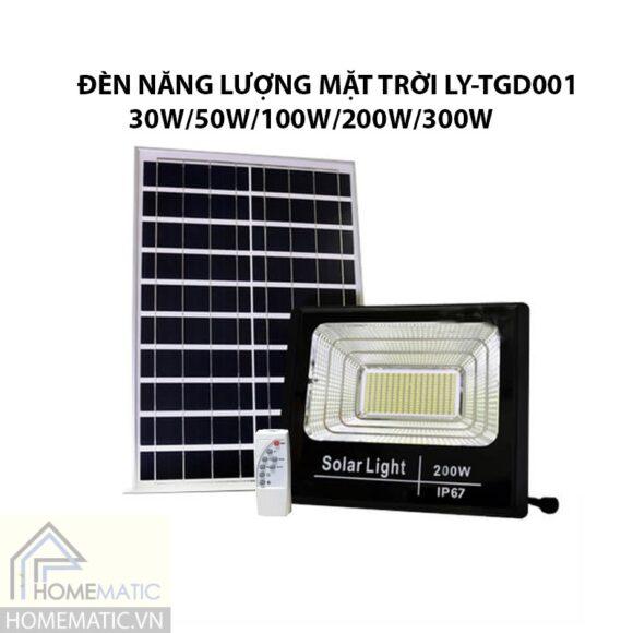 Đèn năng lượng mặt trời LY-TGD001